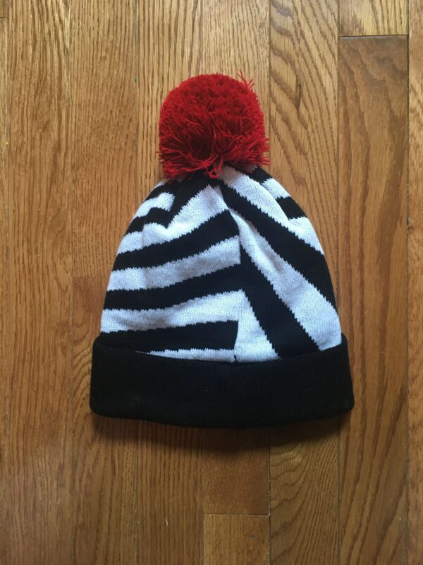 The Zebra Beanie Hat by MUFChicago